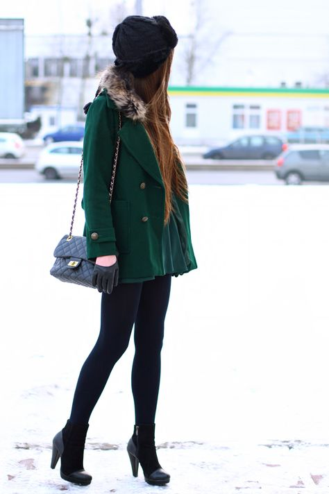 Looking for a green coat <3