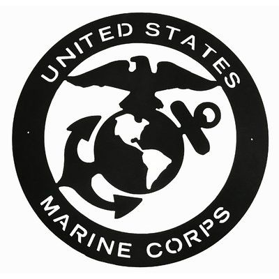 LANDDescapes Marine Corps Wall Décor