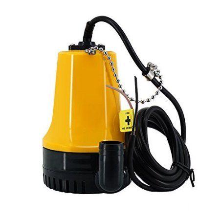 Free Shipping  Buy 12V 1200GPH Boat Bilge Water Pump