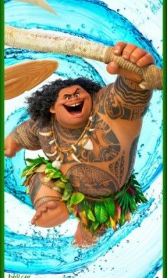 Fondo Moana Para Celular Maui Moana Moana Poster Disney Moana Art