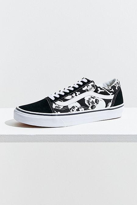 Vans Old Skool Skull Sneaker | Vans, Sepatu, dan Sepatu pria