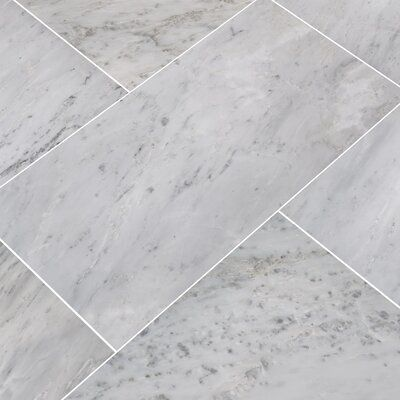 Arabescato Carrara 12 X 24 Marble Field Tile Allmodern In 2020 Tile Floor Flooring Wood Look Tile