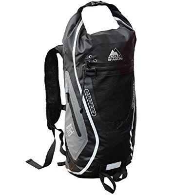 COX Swain 20L super leichter wasserdichter Outdoor Rucksack Packsack für Fahrrad, Wassersport etc., Farbe: Black
