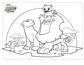 Coloring Rocks Animal Jam Lion Coloring Pages Coloring Pages