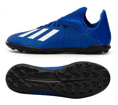 Adidas X 19 3 Tf Junior Eg7172 Soccer Football Boots Kids Turf Shoes Blue Ebay In 2020 Kids Boots Turf Shoes Football Boots