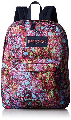 Jansport Superbreak Backpack Sale Colors Multi Flower Explosion