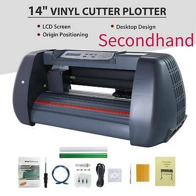 Secondhand Vinylcutter Plottercutting14 Sign Makergraphics Handicraft Wideformat Ebay In 2020 Vinyl Cutter Sign Maker Desktop Design