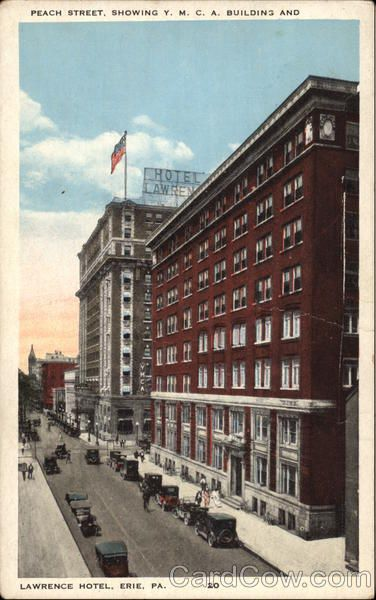 Erie Times Building West 10th Street 1924 1957 Pennsylvania Pinterest And
