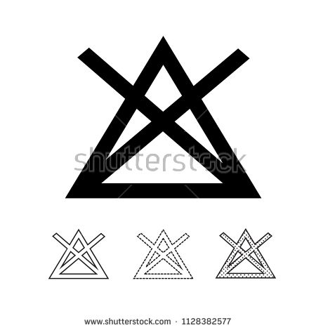 Laundry Symbol Icon Vector Laundry Symbols Vector Icon