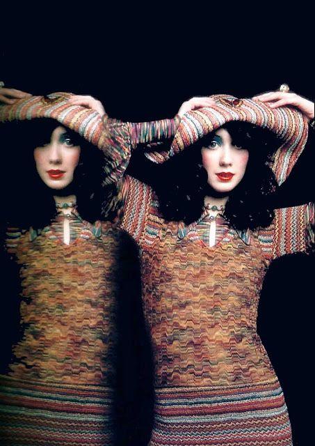 1971 - Missoni knit by Barry Lategan 4 Vogue