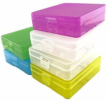 Honbay Battery Storage Case Box Organizer Holder For 4 18650 Batteries Or 8 Cr123a Battery Pack Of Battery Storage 18650 Battery Rechargeable Battery Charger