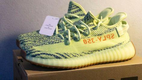 33edb03fc Adidas Yeezy Boost 350 v2 Frozen Yellow Size 9.5 Kanye West  fashion   clothing