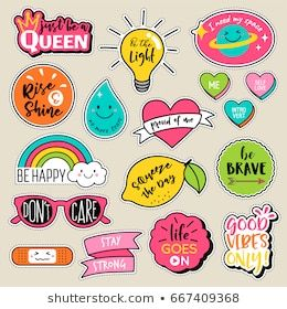 picture relating to Printable Patches named Fastened of design patches, lovable colourful badges, pleasurable cartoon