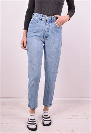 fd08eaba GUESS WOMENS VINTAGE JEANS W28 L27 BLUE 90S | COVETING | Jeans ...