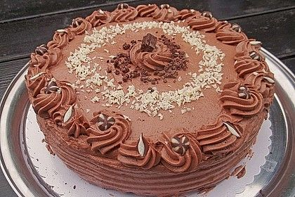 Schokoladen Sahne Torte Rezept Schokoladen Sahne Torte Schoko Sahne Torte Schokoladencreme Fur Torte