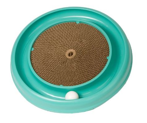 NEW Bergan Turbo Scratcher Cat Toy Colors may vary FREE SHIPPING