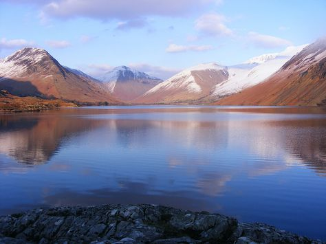 Wherever you are in the Lake District, you're bound to find a beautifully romantic view such as this.