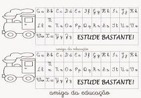 Portal Do Professor Do Ensino Infantil Alfabeto De Mesa Alfabeto