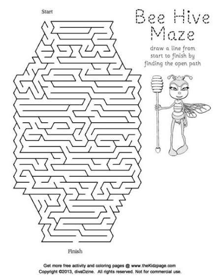 Trendy Science Art Drawings For Kids Free Printable Ideas Bee Crafts For Kids Bee Activities Bee Printables