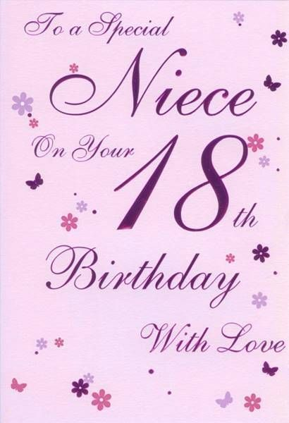 18th Birthday Card 18th Birthday Cards Girl Birthday Cards 21st Birthday Cards