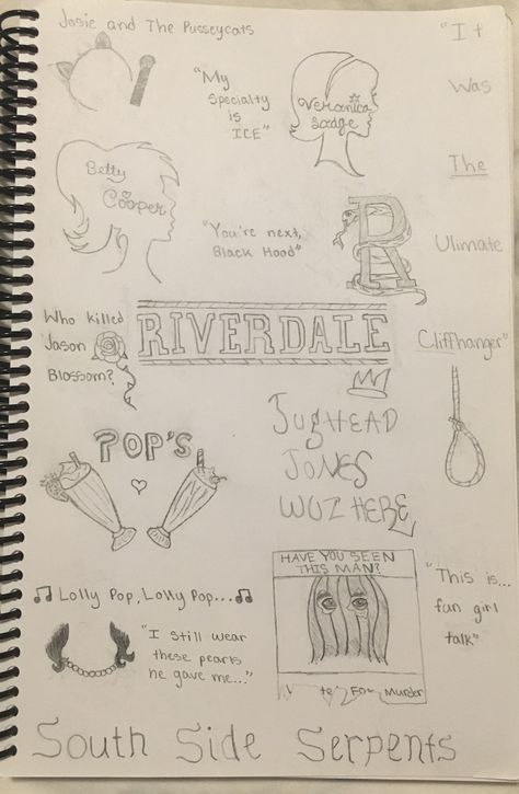 This is super cool! I love to draw and am working on my own riverdale series of drawings!