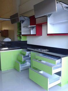 9 Modular Kitchen Cabinet Tips With Images To Give Them Modern Look Kitchen Modular Kitchen Room Design