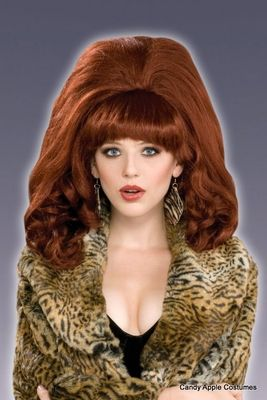 big red bouffant wig halloween puls size costumes for plus size women pinterest costumes and halloween costumes - Red Wigs For Halloween