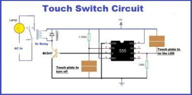 How To Connect Led Light To 220 Ac In 2020 Circuit Circuit Design Lamp Switch