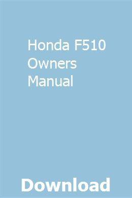 Honda oem parts list catalogue f410 f460 f510 f560 # 6673400 | ebay.