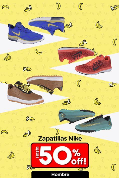 oferta en zapatillas nike hombre