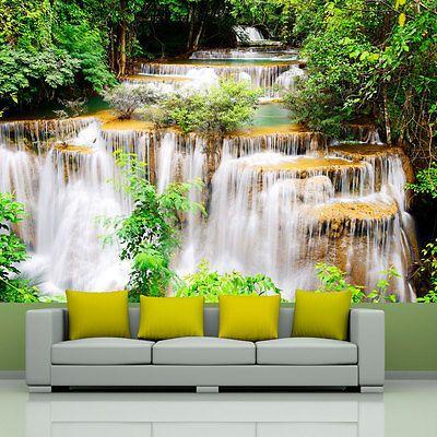 Wasserfall Natur Wald Fototapete Vlies Tapete Xxl Wandtapete 10110903 46 Ebay Wandtapete Fototapete Weisse Tapete