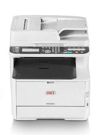 Oki Mc363dn Colour Laser Printer Laser Printer Printer Led Color