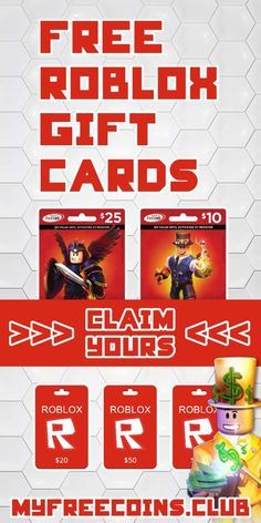 Claim A 50 Free Roblox Gift Card And They Use It To Get Free