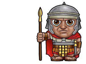 Roman Soldier Slide 9 Bible Characters Soldier Bible Stories