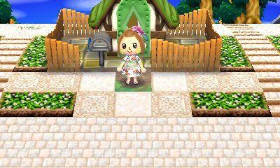 Citrus村の地面マイデザイン とび森 マイデザイン 地面 デザイン