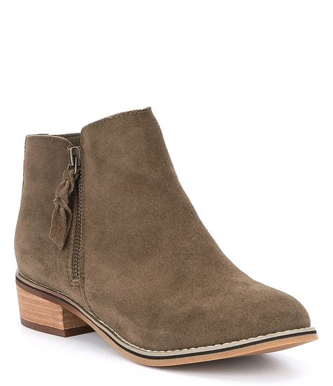 45ffab04e247 Shop for Blondo Waterproof Liam Suede Block Heel Booties at Dillards.com.  Visit Dillards.com to find clothing