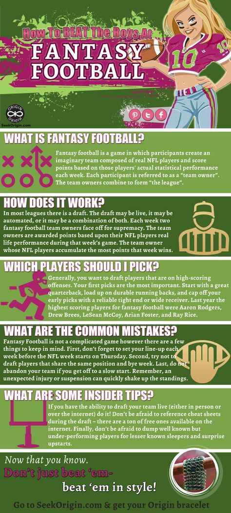 How to Play Fantasy Football: The Girls Guide <--- haha, just gearing up to beat some ass at fantasy football this year