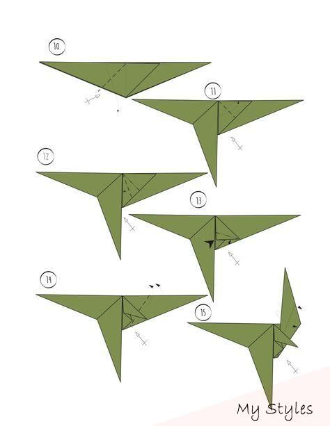 Origami Tiere Anleitung