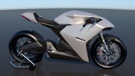 Ducati Zero Fx Electric Bike Motorbike Design Futuristic