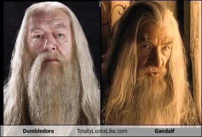 Dumbledore Richard Harris Totally Looks Like Gandalf Sir Ian Mckellen Albus Dumbeldore