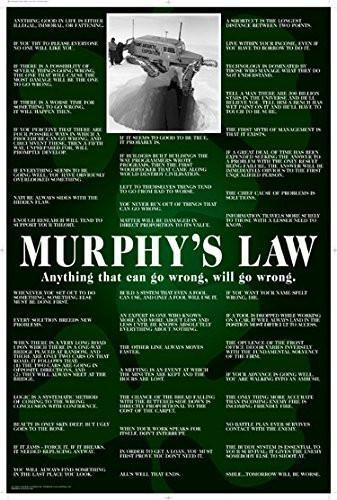 HUMOR MURPHY/'S LAW NEW 24X36 FUNNY POSTER