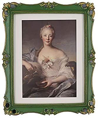 Amazon Com Simon S Shop Antique Picture Frames 8x10 Baroque Photo Frames 10 X 8 In With Floral In 2020 Vintage Photo Frames Antique Picture Frames 11x14 Picture Frame