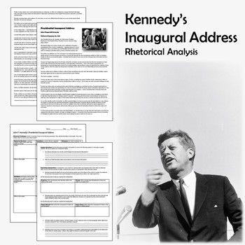 John F Kennedy S Inaugural Address Rhetoric Comprehension