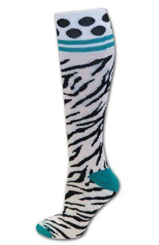 Sports Katz Zebra Socks Soccer Socks Polka Dot Socks Softball Socks