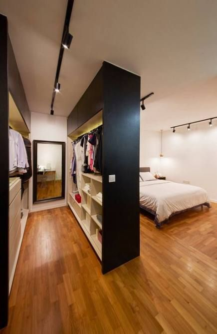 Closet Room Divider Ideas 43 Ideas Closet Divider Ideas Room In 2020 Bedroom Design Bedroom Divider Bedroom Interior