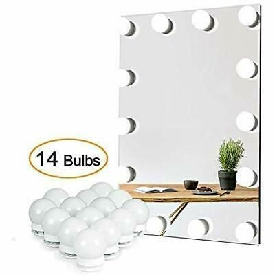 Details About Vanity Lights For Mirror Diy Hollywood Lighted