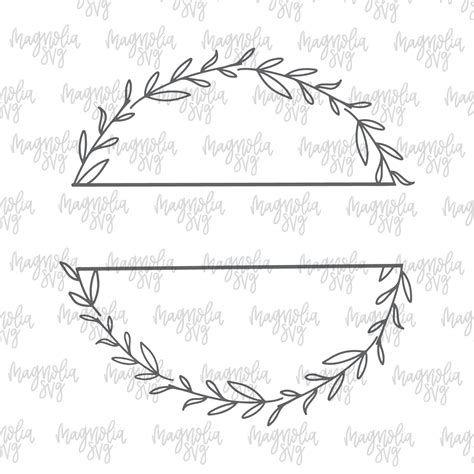 Free Farm House Border Svg Image How To Draw Hands Wreath Drawing Cricut
