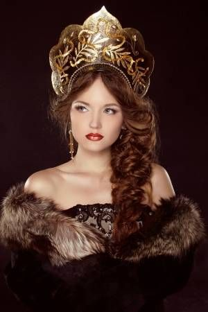 Find Russian Beauty Attractive Female Wearing Kokoshnik stock images and royalty free photos in HD. Explore millions of stock photos, images, illustrations, and vectors in the Shutterstock creative collection.