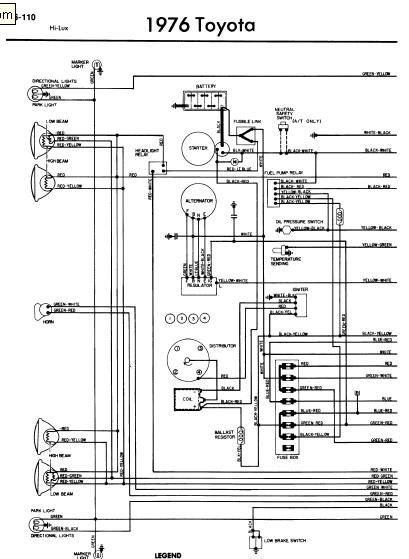 wiring diagram for toyota hilux d4d  toyota hilux