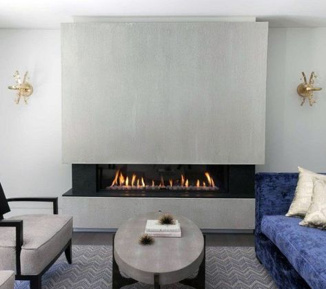 Electric Fireplace: Recessed 50
